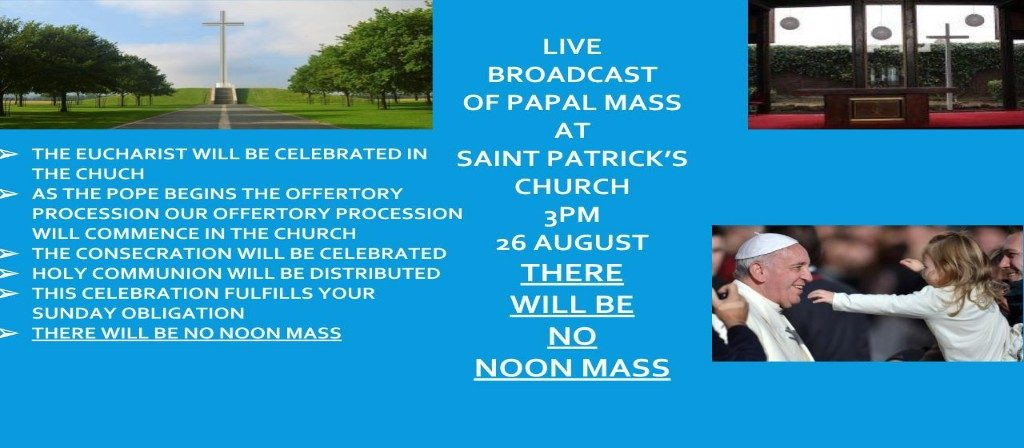 Papal Mass Broadcast