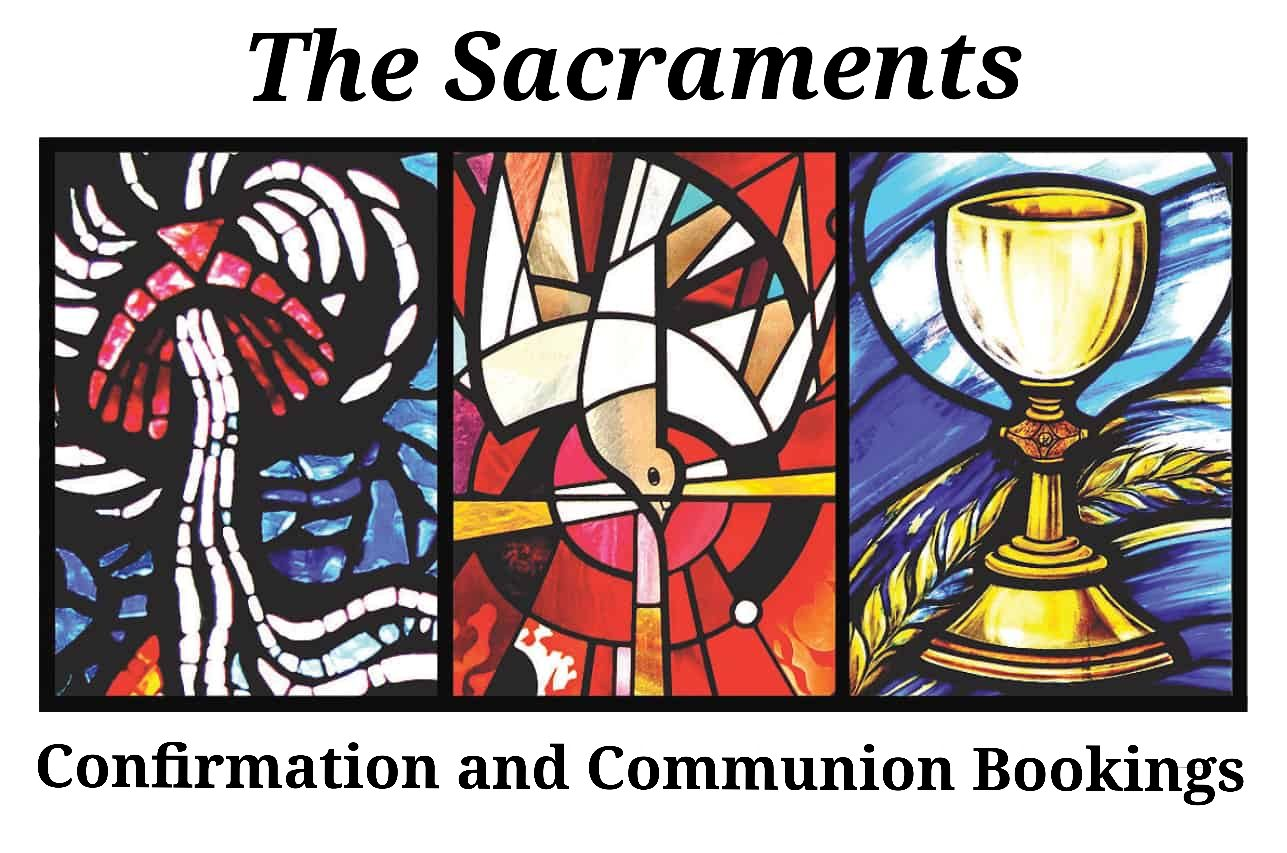 Confirmation and Communion Booking